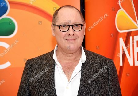 James Spader attends the NBC 2019/20 Upfront at The Four Seasons New York, in New York