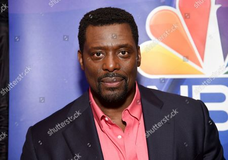 Eamonn Walker attends the NBC 2019/20 Upfront at The Four Seasons New York, in New York