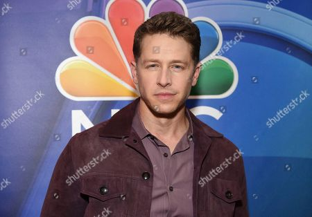 """Josh Dallas, from the cast of """"Manifest,"""" attends the NBC 2019/2020 Upfront at The Four Seasons New York on"""