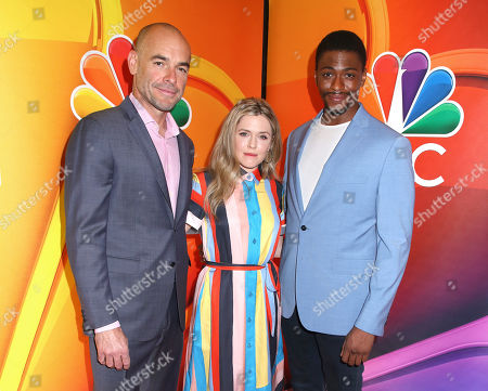 Paul Blackthorne, Harriet Dyer and Justin Cornwell