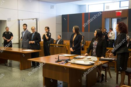 Stock Image of Anthony Comello, 24, appears in court with is attorney Robert Gottlieb, in Staten Island on