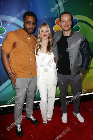 LaRoyce Hawkins, Tracy Spiridakos and Jesse Lee Soffer