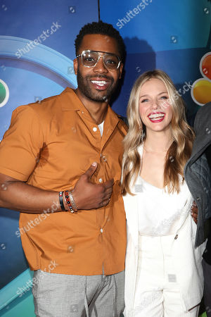 LaRoyce Hawkins and Tracy Spiridakos
