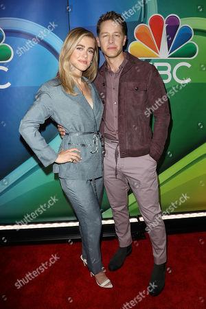 Melissa Roxburgh and Josh Dallas