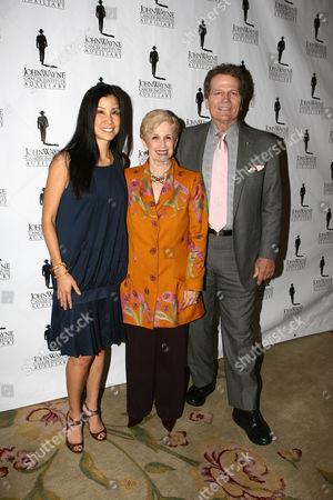 Lisa Ling, Ina Lewis and Patrick Wayne