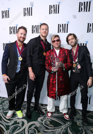 Editorial photo of 67th Annual BMI Pop Awards, Arrivals, Beverly Wilshire Hotel, Los Angeles, USA - 14 May 2019