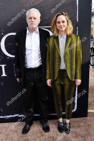 Brad Dourif and Fiona Dourif