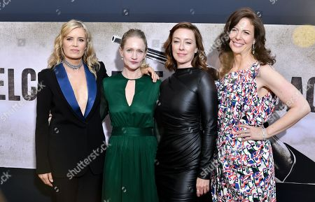 Kim Dickens, Paula Malcomson, Molly Parker and Robin Weigert