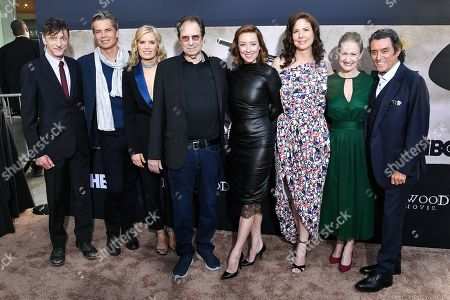 John Hawkes, Timothy Olyphant, Kim Dickens, David Milch, Molly Parker, Robin Weigert, Paula Malcomson and Ian McShane