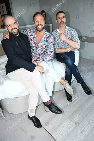 Stock Picture of Justin Alexander Horne, Jason Gardiner, Jean-Francois Rio