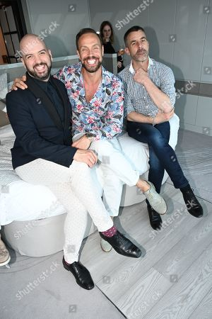 Justin Alexander Horne, Jason Gardiner, Jean-Francois Rio