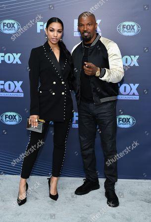 Corinne Foxxa and Jamie Foxx