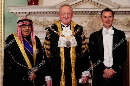Editorial image of Lord Mayor's Easter Banquet at Mansion House, London, United Kingdom - 13 May 2019