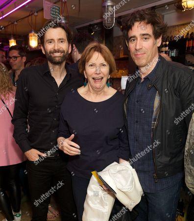 David Tennant, Joan Bakewell and Stephen Mangan