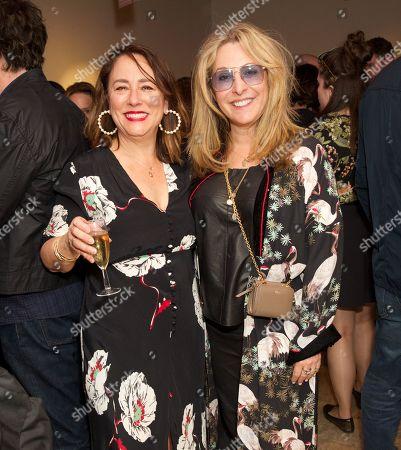 Arabella Weir and Tracy-Ann Oberman