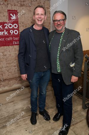 Tim Wallers and Charlie Higson