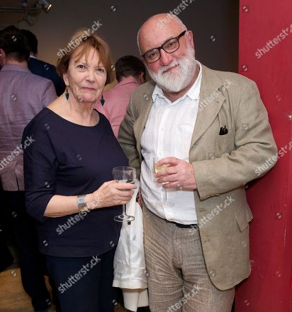 Joan Bakewell and Alexei Sayle