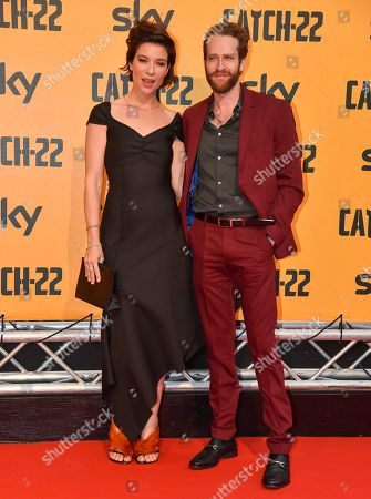 Editorial photo of 'Catch-22' TV show premiere, Rome, Italy - 13 May 2019