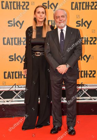 Editorial image of 'Catch-22' TV show premiere, Rome, Italy - 13 May 2019