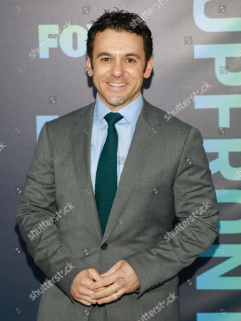 Fred Savage attends the FOX 2019 Upfront party at Wollman Rink in Central Park, in New York