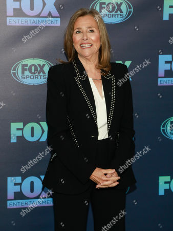 Meredith Vieira attends the FOX 2019 Upfront party at Wollman Rink in Central Park, in New York