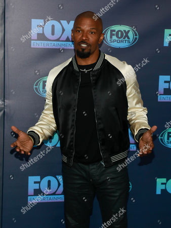 Jamie Foxx attends the FOX 2019 Upfront party at Wollman Rink in Central Park, in New York