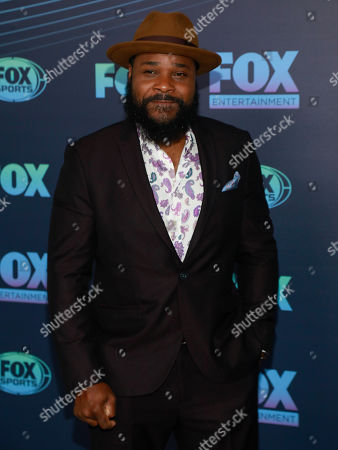 Stock Picture of Malcolm-Jamal Warner attends the FOX 2019 Upfront party at Wollman Rink in Central Park, in New York