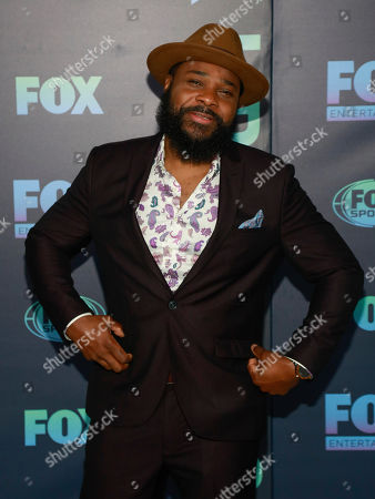 Malcolm-Jamal Warner attends the FOX 2019 Upfront party at Wollman Rink in Central Park, in New York