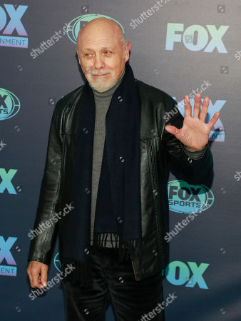 Hector Elizondo attends the FOX 2019 Upfront party at Wollman Rink in Central Park, in New York