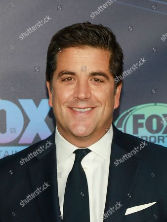 Josh Elliott attends the FOX 2019 Upfront party at Wollman Rink in Central Park, in New York
