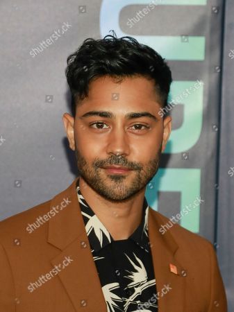 Manish Dayal attends the FOX 2019 Upfront party at Wollman Rink in Central Park, in New York