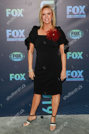 Mary Murphy attends the FOX 2019 Upfront party at Wollman Rink in Central Park, in New York