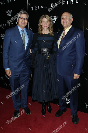 Stock Photo of Eric d'Arbeloff, Laura Dern, Howard Cohen