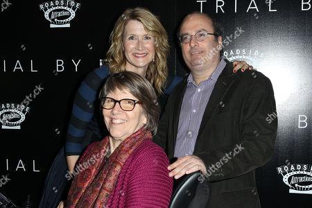 Laura Dern, Elizabeth Gilbert, David Grann
