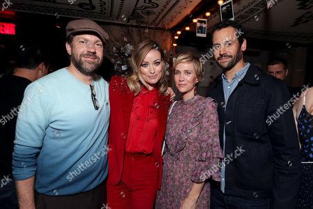 Stock Picture of Jason Sudeikis, Olivia Wilde, Director, Kristen Wiig, Avi Rothman