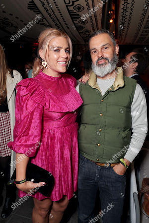 Stock Photo of Busy Philipps, Marc Silverstein