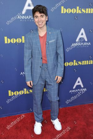 """Noah Galvin attends a special screening of """"Booksmart"""" at the Theatre at Ace Hotel, in Los Angeles"""