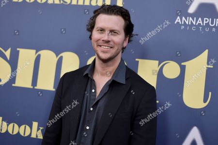 """Hayes MacArthur attends a special screening of """"Booksmart"""" at the Theatre at Ace Hotel, in Los Angeles"""