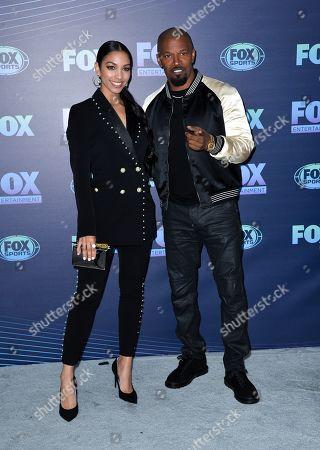 Corinne Bishop and Jamie Foxx