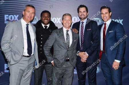 Urban Meyer, Reggie Bush, Rob Stone, Matt Leinart and Brady Quinn