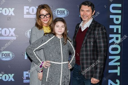Editorial picture of Fox Upfront Presentation, Arrivals, Central Park's Wollman Rink, New York, USA - 13 May 2019