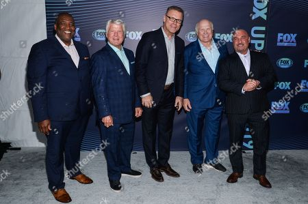 Curt Menefee, Jimmy Johnson, Howi Long, Terry Bradshaw and Jay Glazer