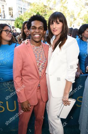 Editorial image of 'The Sun Is Also A Star' film premiere, Los Angeles, USA - 13 May 2019