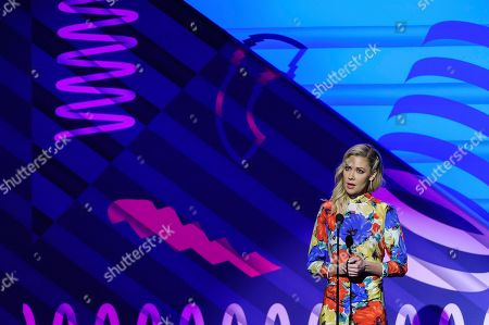 Stock Photo of Desi Lydic attends the 23rd annual Webby Awards at Cipriani Wall Street, in New York