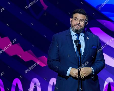 Adam Richman attends the 23rd annual Webby Awards at Cipriani Wall Street, in New York
