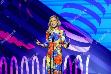 Desi Lydic attends the 23rd annual Webby Awards at Cipriani Wall Street, in New York