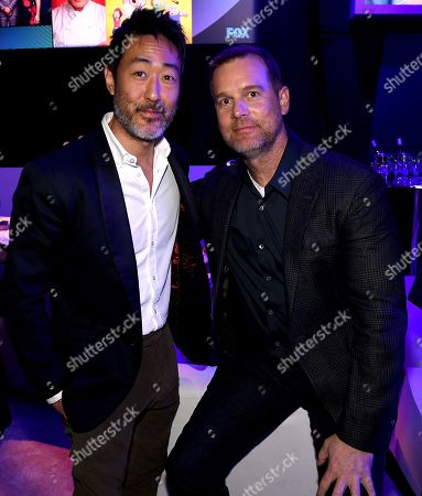 Kenneth Choi, Peter Krause