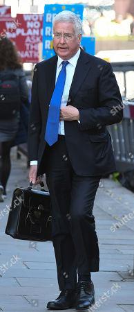 Ex-defence secretary Sir Michael Fallon