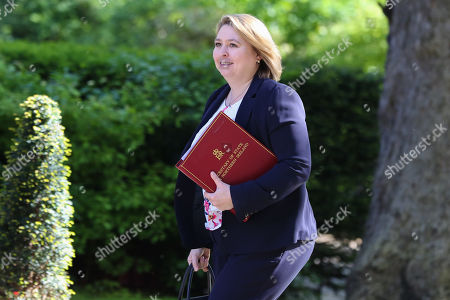Karen Bradley - Secretary of State for Northern Ireland arrives in Downing Street for the weekly Cabinet meeting.