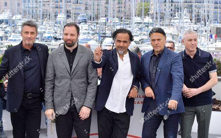 Pawel Pawlikowski, Yorgos Lanthimos, Alejandro Gonzalez Inarritu, Enki Bilal and Robin Campillo
